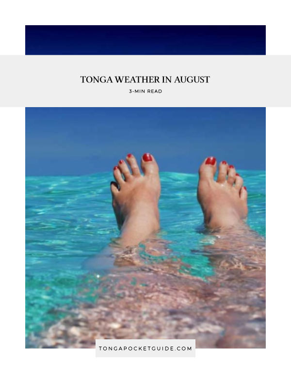 Tonga Weather in August