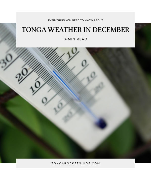 Tonga Weather in December