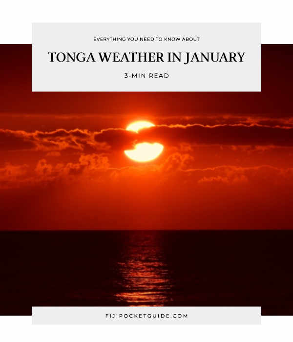 Tonga Weather in January