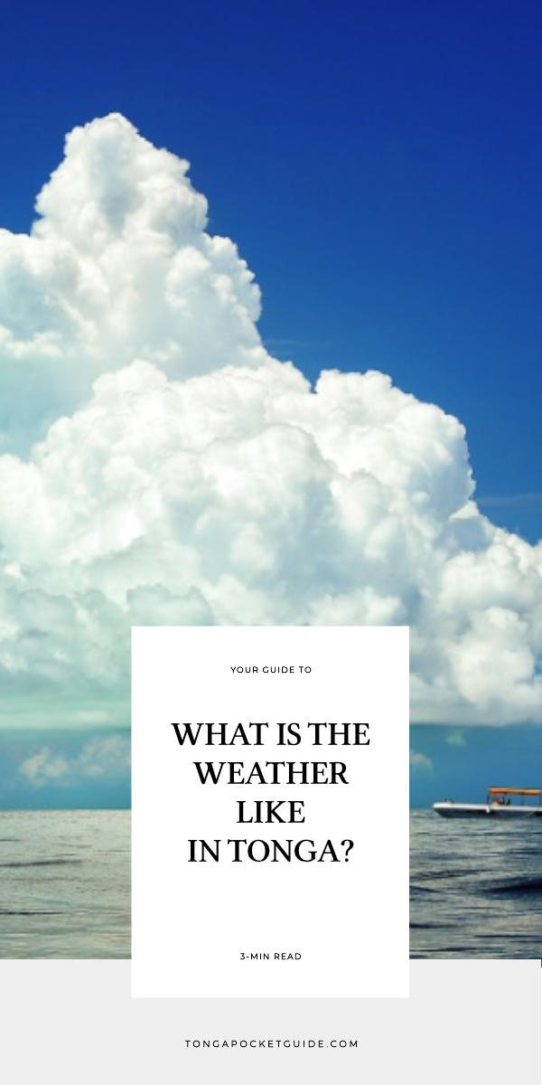 What is the Weather Like in Tonga?