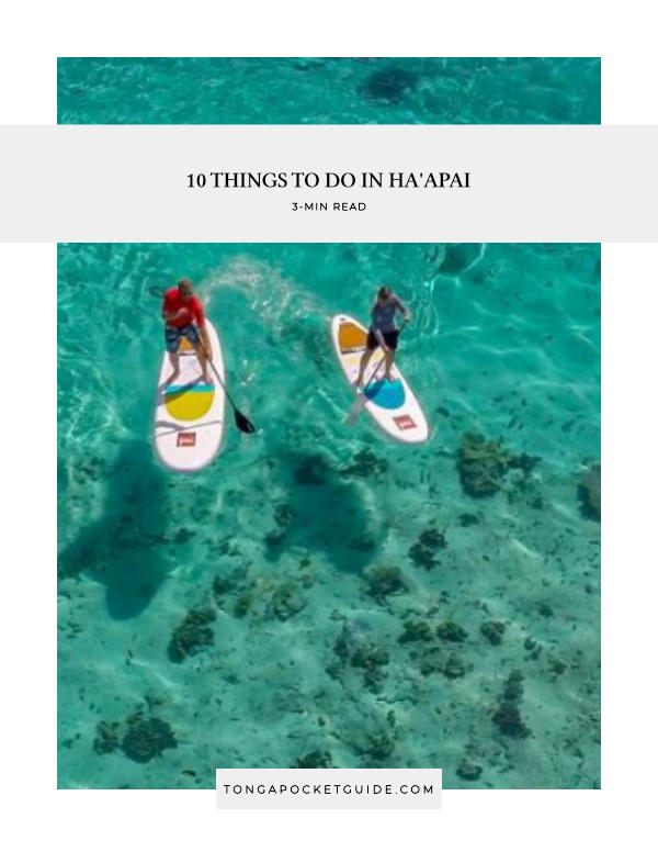 10 Things to Do in Ha'apai