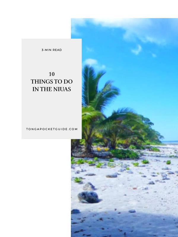 10 Things to Do in The Niuas