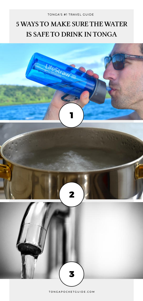 5 Ways to Make Sure the Water is Safe to Drink in Tonga