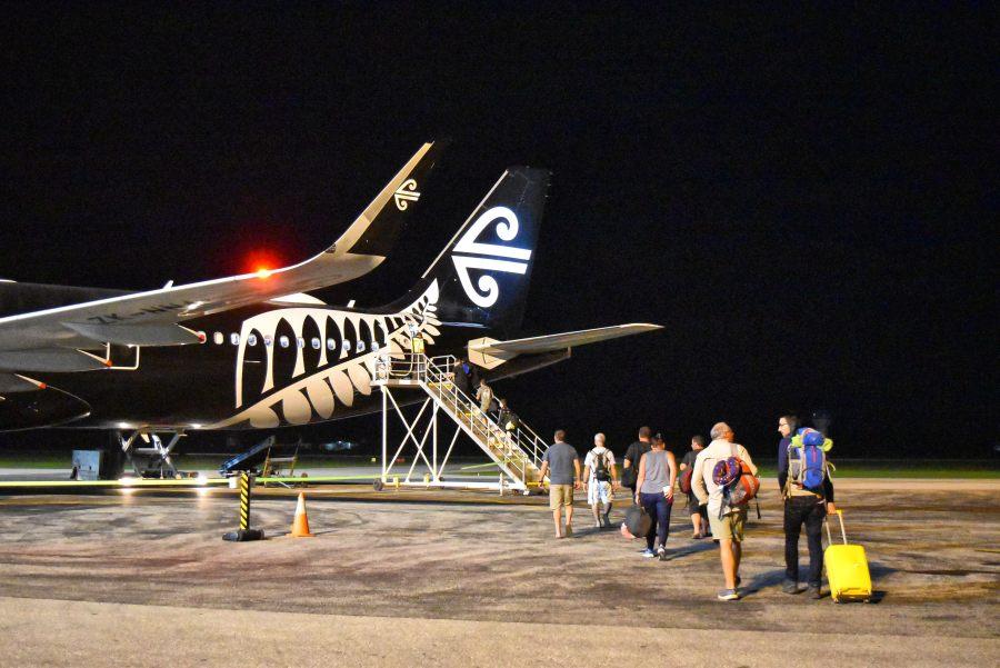Boarding Plane Fuaamotu Airport Night Mandatory Credit To TongaPocketGuide.com Small 4