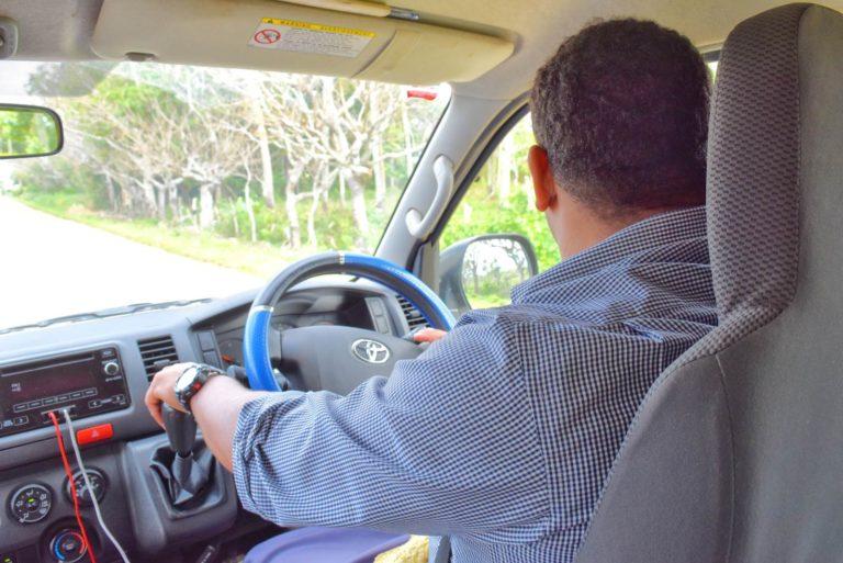 Hiring a Driver in Tonga