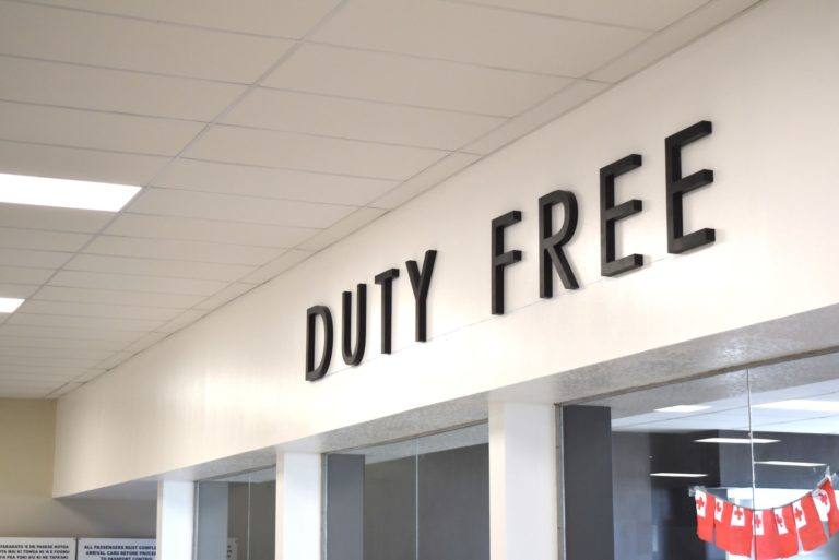 The Duty-Free Allowances for Tonga
