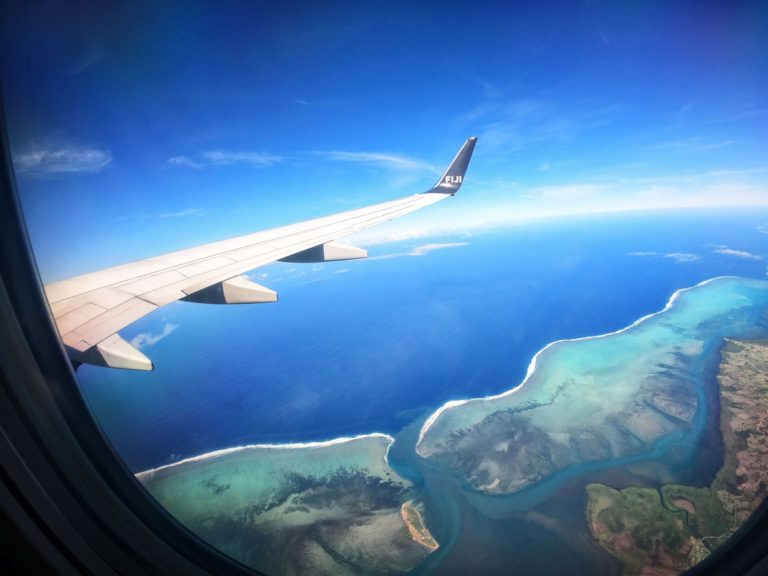 Fiji Airways Plane Wing Feature Mandatory Credit FijiPocketGuide.com