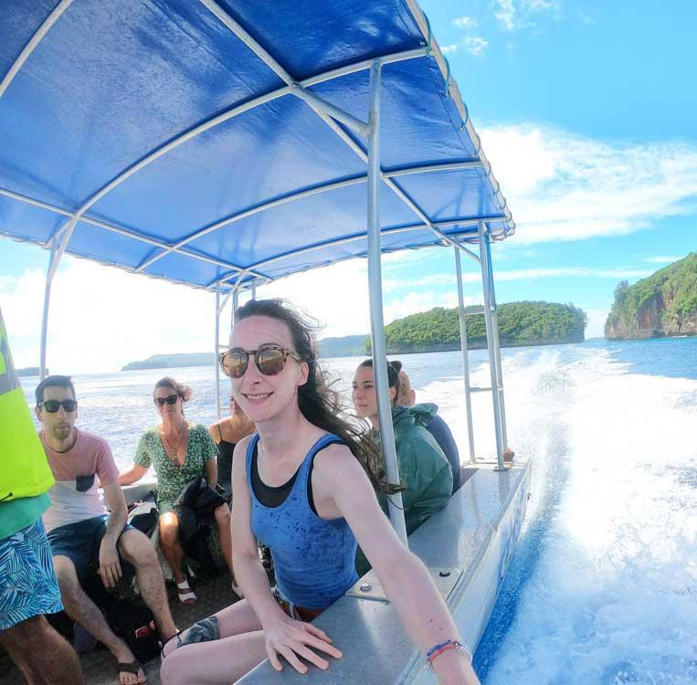 TRANSPORT Boat Transfer Transport Mandatory Credit To TongaPocketGuide