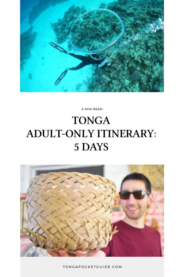 Tonga Adult-Only Itinerary: 5 Days