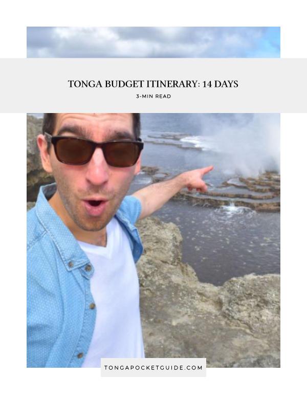 Tonga Budget Itinerary: 14 Days