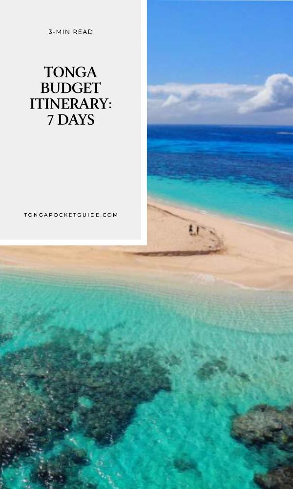 Tonga Budget Itinerary: 7 Days