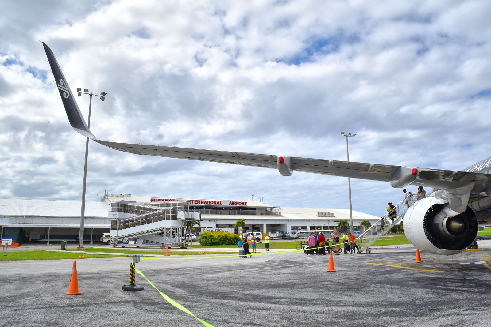 Which Airport to Arrive in Tonga