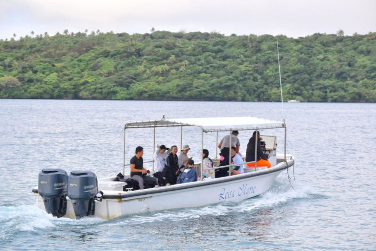 How to Catch a Water Taxi in Tonga