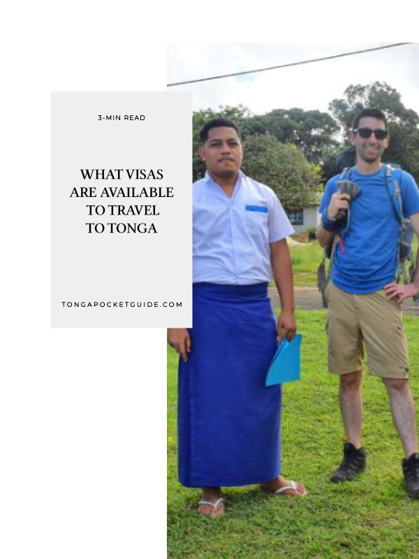 What Visas Are Available to Travel to Tonga