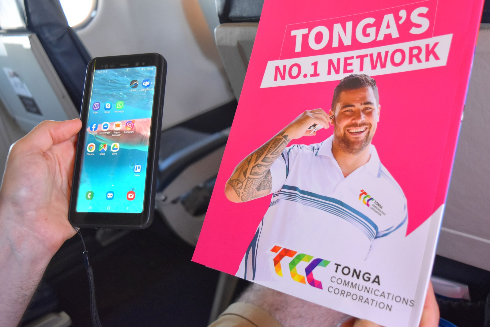 What Are the Tonga Phone Networks?