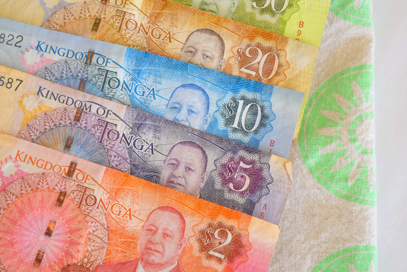 What is the Currency in Tonga?