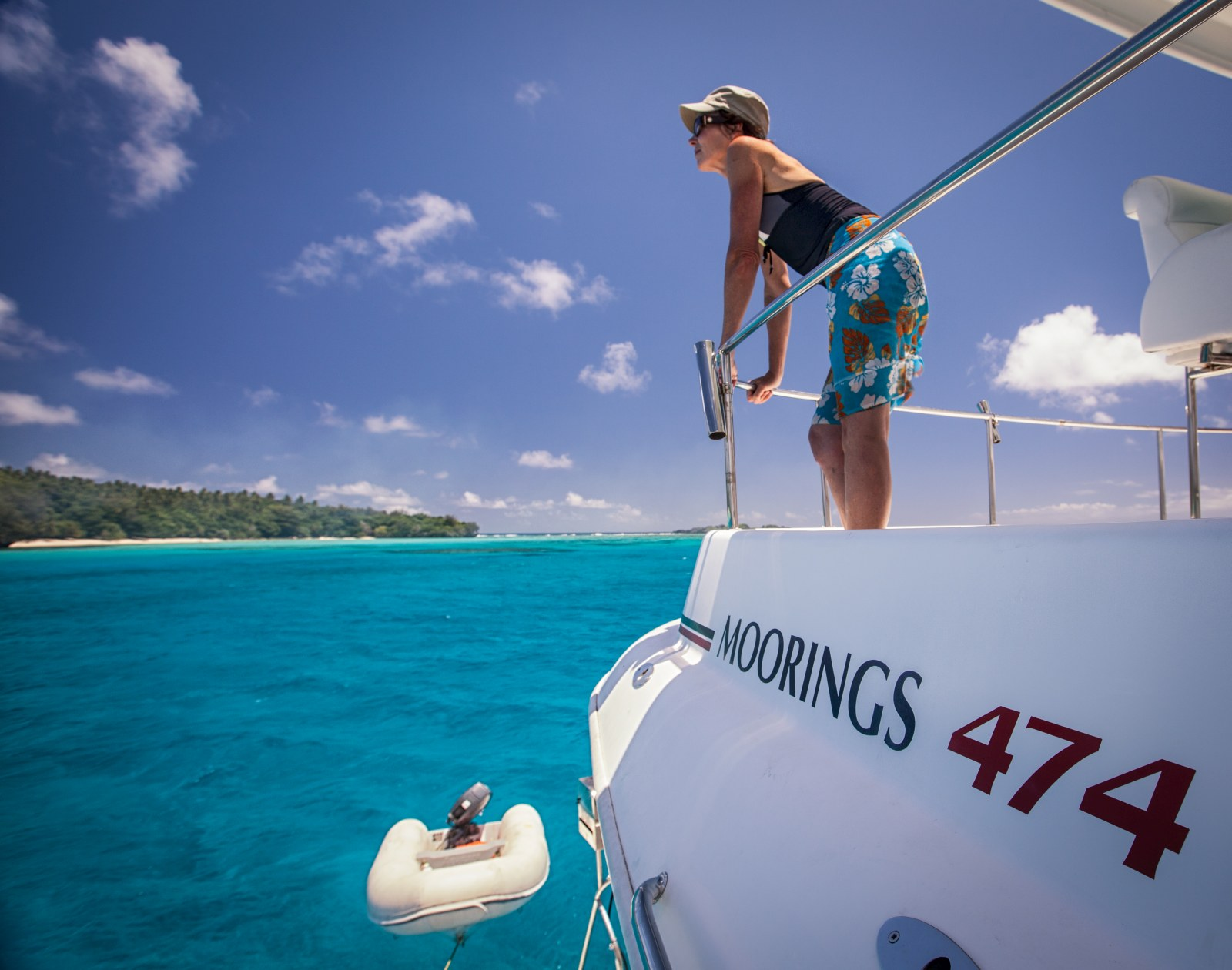 The Unique Boat Stays in Tonga